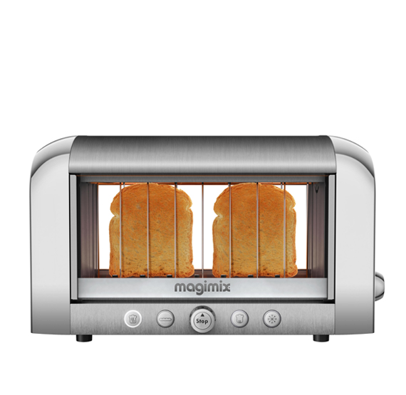vision toaster magimix polished brushed