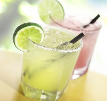 Frozen lime and grapefruit drink Magimix.